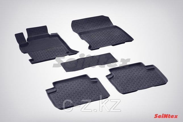 Резиновые коврики для Honda Accord IX 2012-н.в., фото 2
