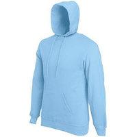 "Толстовка мужская ""Hooded Sweat"", небесно-голубой_XL, 80% х/б, 20% п/э, 280 г/м2, Голубой, XL, 622080.YT XL"
