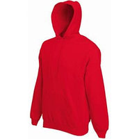 Толстовка с начесом CLASSIC HOODED SWEAT 280, Красный, L, 622080.40 L