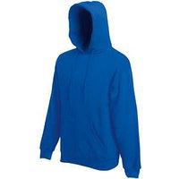 Толстовка мужская CLASSIC HOODED SWEAT 280, Синий, S, 622080.51 S
