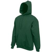 Толстовка с начесом CLASSIC HOODED SWEAT 280, Зеленый, L, 622080.38 L