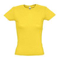 Футболка женская MISS 150, Желтый, S, 711386.301 S