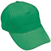 Бейсболка HIT, 5 клиньев, застежка на липучке, Зеленый, -, 8302 47
