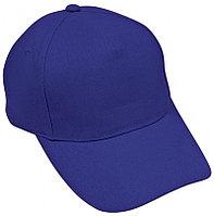 Бейсболка HIT, 5 клиньев, застежка на липучке, Синий, -, 8302 51