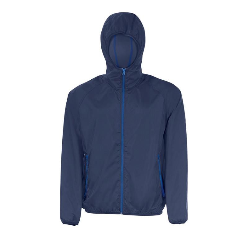 Ветровка водоотталкивающая унисекс SHORE, Темно-синий, S, 701169.318 S - фото 1