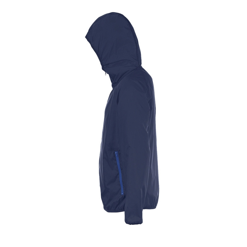 Ветровка водоотталкивающая унисекс SHORE, Темно-синий, L, 701169.318 L - фото 4