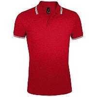 Поло мужское PASADENA MEN 200, Красный, XL, 700577.908 XL