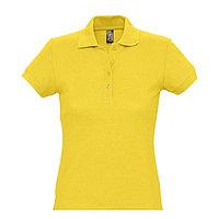 Поло женское PASSION 170, Желтый, S, 711338.301 S
