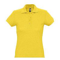 Поло женское PASSION 170, Желтый, L, 711338.301 L