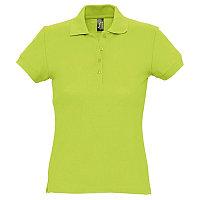 Поло женское PASSION 170, Зеленый, S, 711338.280 S