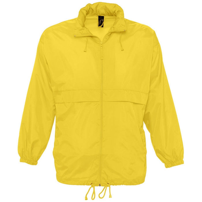 Ветровка водоотталкивающая унисекс SURF, Желтый, M, 732000.301 M - фото 1