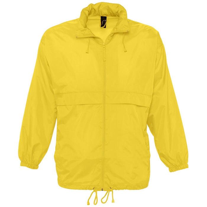 Ветровка водоотталкивающая унисекс SURF, Желтый, 2XL, 732000.301 2XL - фото 1