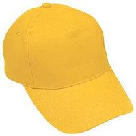 Бейсболка LIGHT, 5 клиньев,  застежка на липучке, Желтый, -, 8301 34