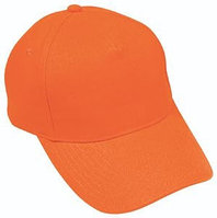 Бейсболка LIGHT, 5 клиньев,  застежка на липучке, Оранжевый, -, 8301 44