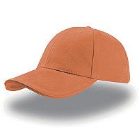 Бейсболка LIBERTY SANDWICH, 6 клиньев, сэндвич, металлическая  застежка, Оранжевый, -, 25435.05