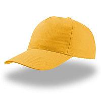 Бейсболка START FIVE, 5 клиньев, застежка на липучке, Желтый, -, 25438.34