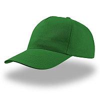 Бейсболка START FIVE, 5 клиньев, застежка на липучке, Зеленый, -, 25438.18