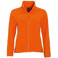 Толстовка женская флисовая NORTH WOMEN 300, Оранжевый, S, 754500.400 S
