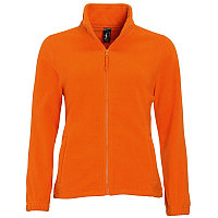 Толстовка женская флисовая NORTH WOMEN 300, Оранжевый, M, 754500.400 M