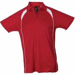 Поло мужское PALLADIUM 140, Красный, XL, 711418.145 XL