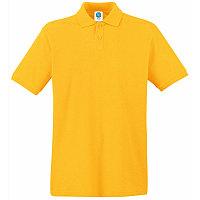 Поло мужское APOLLO 180, Желтый, XL, 16302.34 XL