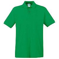 Поло мужское APOLLO 180, Зеленый, 2XL, 16302.47 2XL
