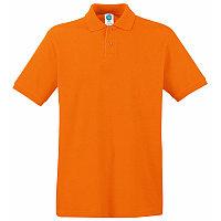 Поло мужское APOLLO 180, Оранжевый, XL, 16302.44 XL