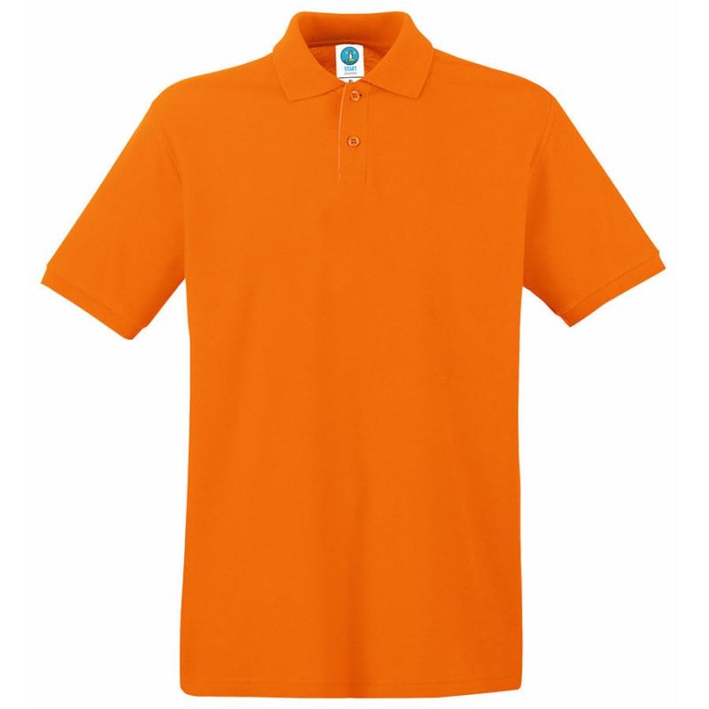 Поло мужское APOLLO 180, Оранжевый, 2XL, 16302.44 2XL