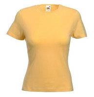 Футболка женская LADY FIT CREW NECK T 210, Желтый, L, 610560.OR L