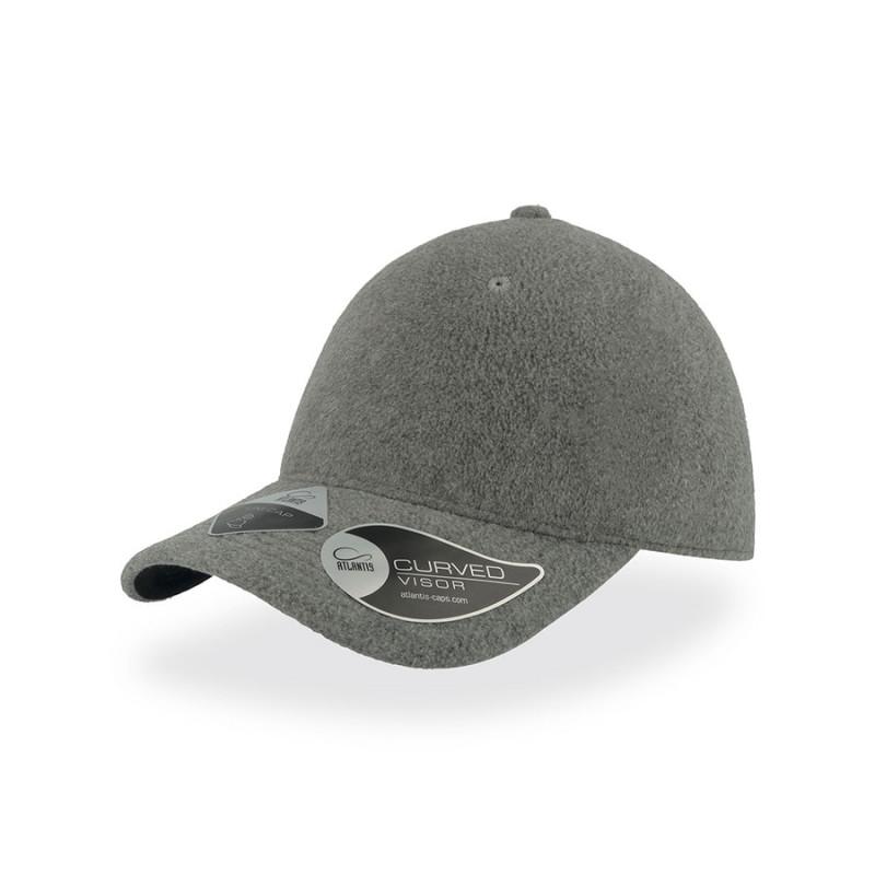 Бейсболка UNI-CAP POLARFLEECE, без панелей и швов, без застежки, Серый, -, 25483.29