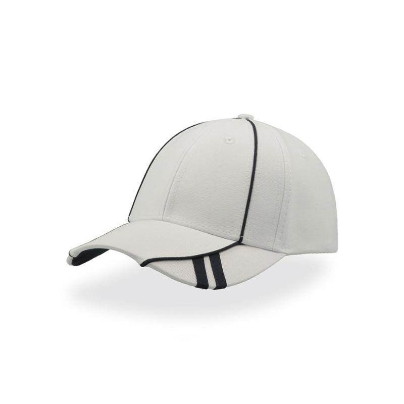 Бейсболка ACE, 6 клиньев, застежка на липучке, Белый, -, 25487.01