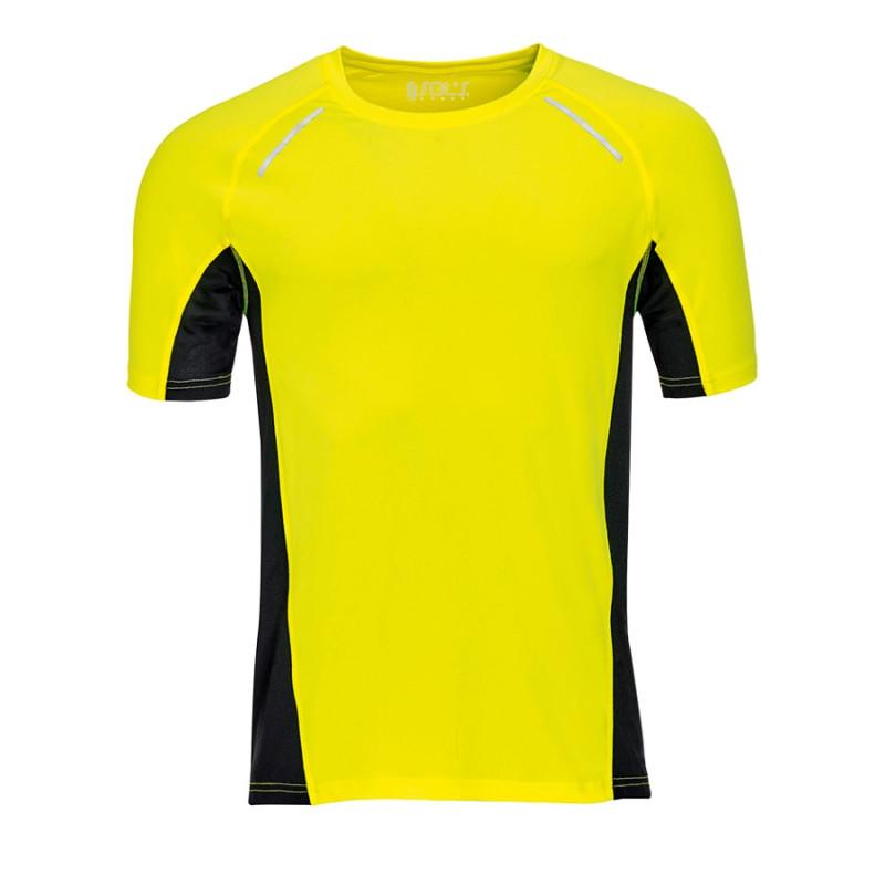 Футболка мужская для бега SYDNEY MEN 180, Желтый, XL, 701414.306 XL