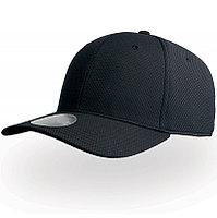 Бейсболка DYE FREE, 6 клиньев, пластиковая застежка, Черный, -, 25451.35