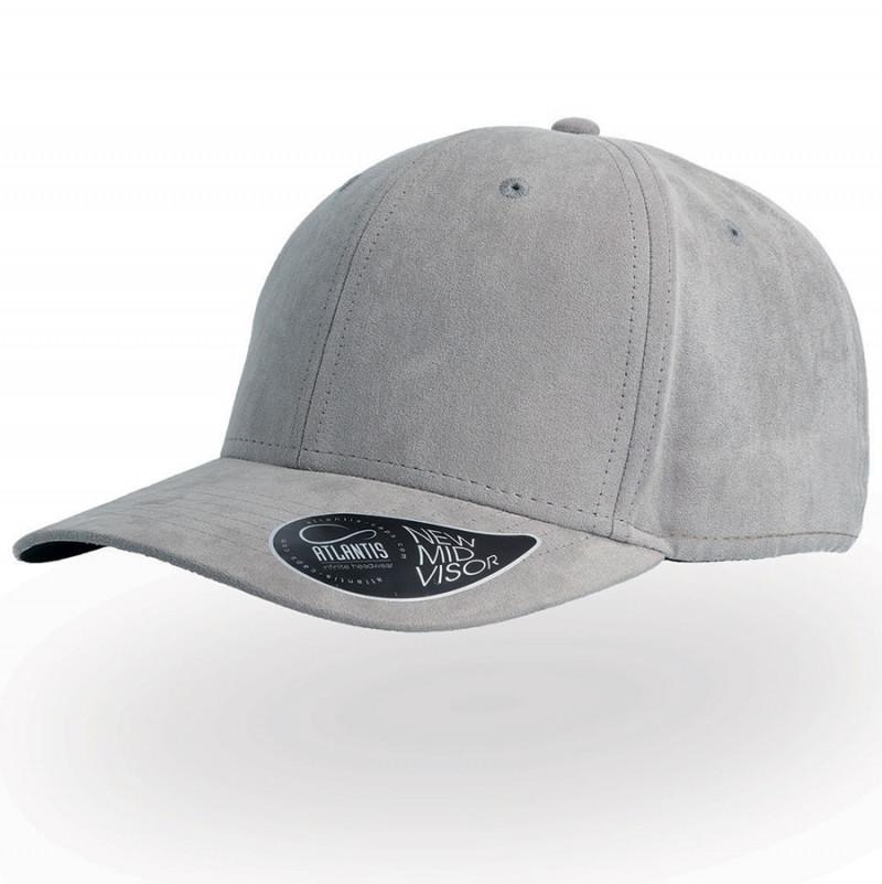 Бейсболка FAM, 6 клиньев, металлическая застежка, Серый, -, 25452.29