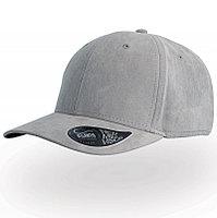Бейсболка FAM, 6 клиньев, металлическая застежка, Серый, -, 25452.29, фото 1