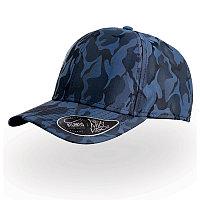 Бейсболка PHASE, 6 клиньев, пластиковая застежка, Синий, -, 25457.220