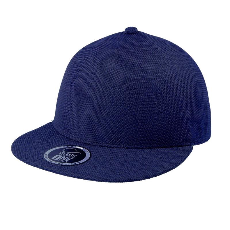 Бейсболка SNAP-ONE, без панелей и швов, без застежки, Темно-синий, -, 25459.26