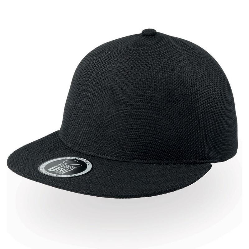 Бейсболка SNAP-ONE, без панелей и швов, без застежки, Черный, -, 25459.35