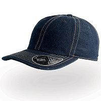 Бейсболка DAD HAT, 6 клиньев, металлическая застежка, Темно-синий, -, 25462.25, фото 1