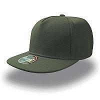 Бейсболка SNAP FIVE, 5 клиньев, пластиковая застежка, (устарел) Оливковый, -, 25426.15, фото 1