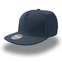 Бейсболка SNAP FIVE, 5 клиньев, пластиковая застежка, Темно-синий, -, 25426.25