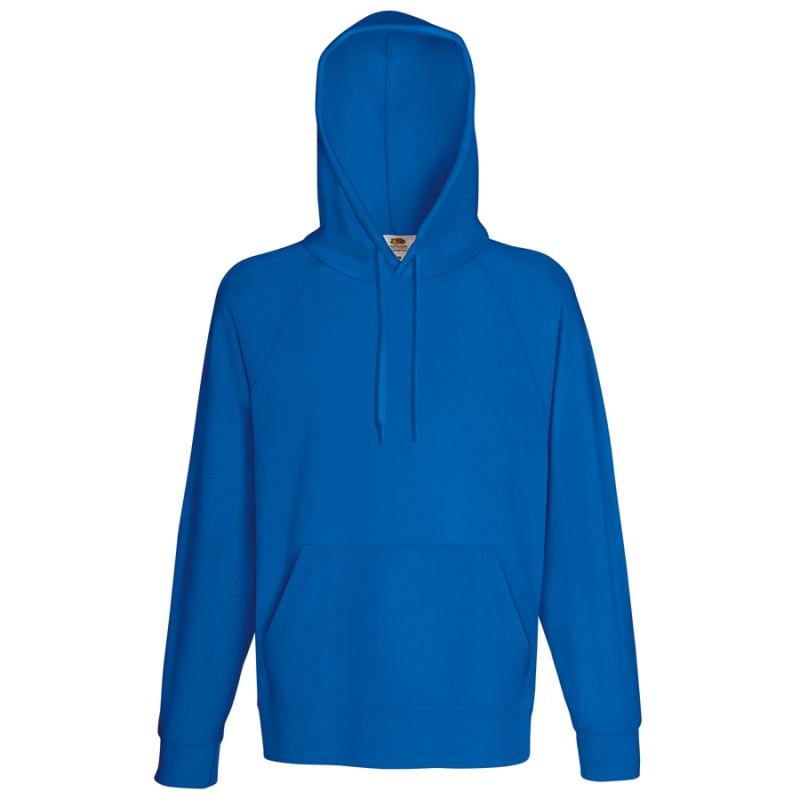 Толстовка без начеса LIGHTWEIGHT HOODED SWEAT 240, Синий, XL, 621400.51 XL