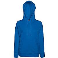 Толстовка женская без начеса LIGHTWEIGH HOODED SWEAT 240, Синий, XS, 621480.51 XS, фото 1