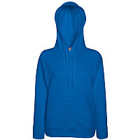 Толстовка женская без начеса LIGHTWEIGH HOODED SWEAT 240, Синий, M, 621480.51 M, фото 1