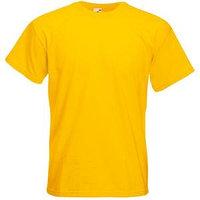 Футболка мужская SUPER PREMIUM T 205, Желтый, S, 610440.34 S