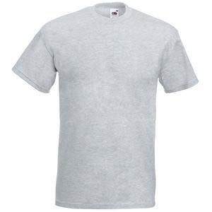 """Футболка мужская """"Super Premium T"""", серый меланж_M, 97% х/б, 3% п/э, 205 г/м2, Серый, M, 610440.94 M"""