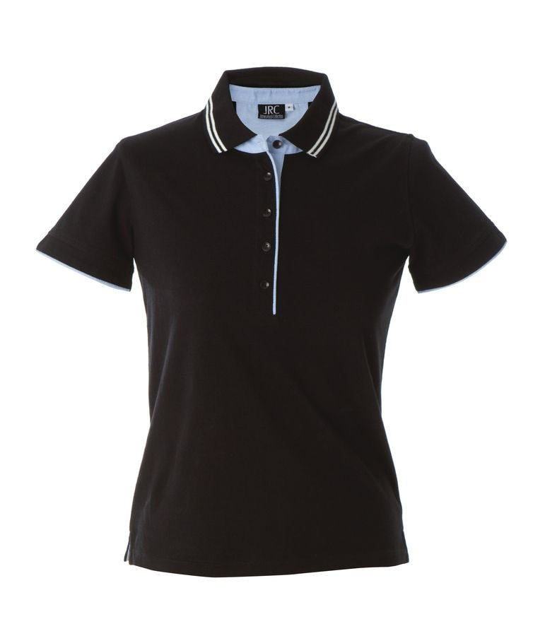 Поло женское RODI LADY 180, Черный, XL, 399896.64 XL