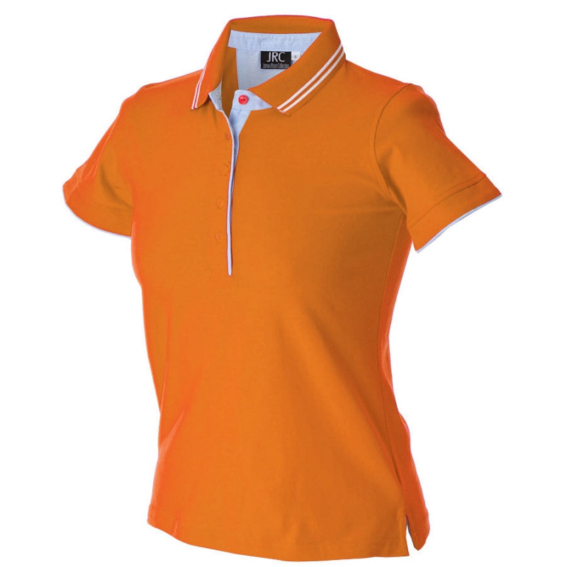 Поло женское RODI LADY 180, Оранжевый, L, 399896.67 L
