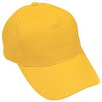 Бейсболка PREMIUM S, 5 клиньев, металлическая застежка, Желтый, -, 19401 301