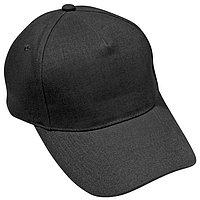 Бейсболка PREMIUM S, 5 клиньев, металлическая застежка, Черный, -, 19401 309